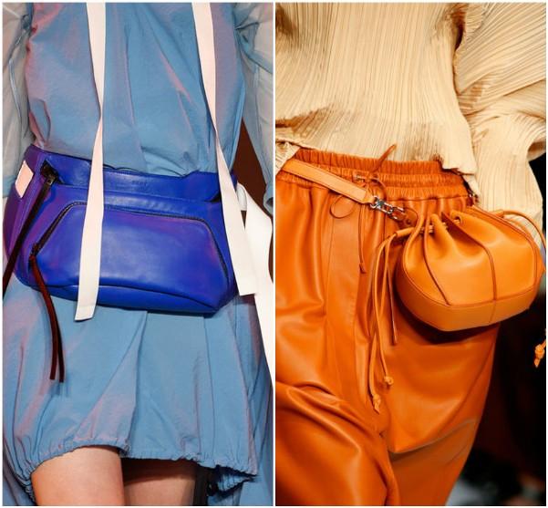 Набедренные сумки DKNY, Jil-Sander