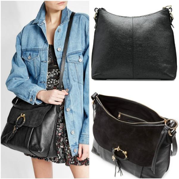 Черная сумка через плечо Chloe