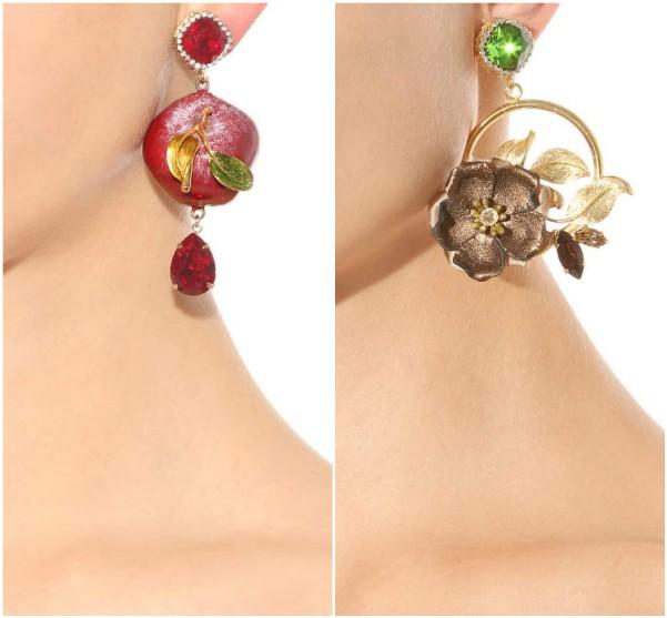Большие серьги Dolce Gabbana