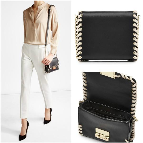 Черная сумка наплечная Karl Lagerfeld