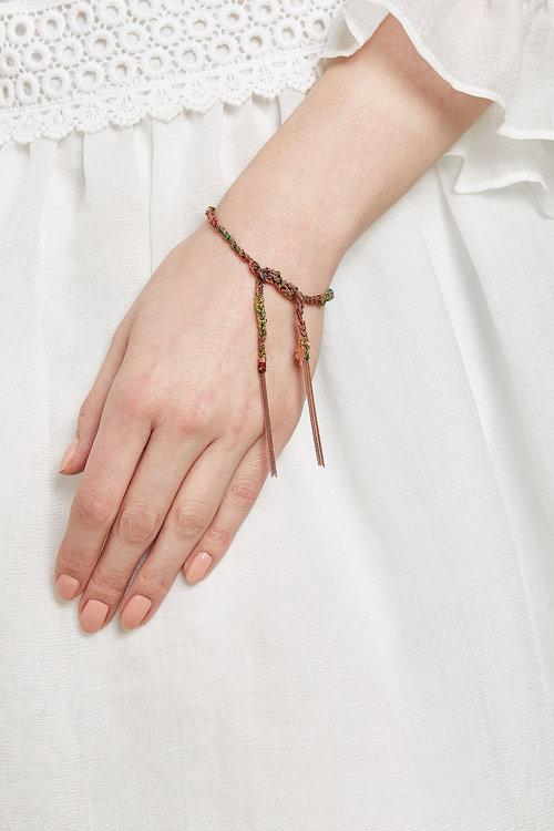Carolina Bucci, браслет в стиле бохо
