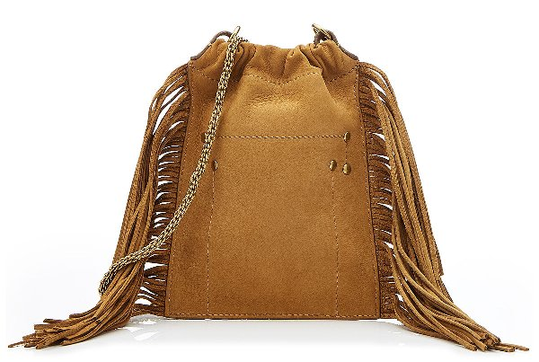 Jérôme Dreyfuss, сумка в стиле бохо, коричневая