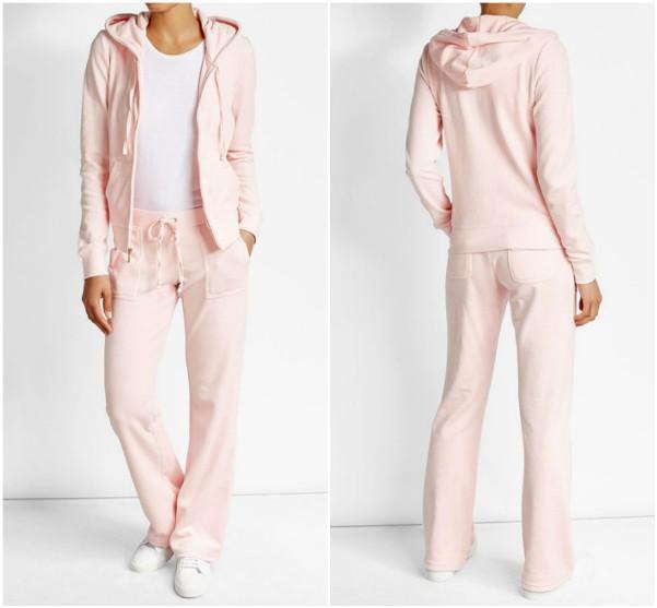 Розовая толстовка Juicy Couture