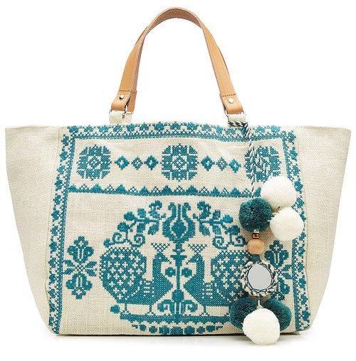 Star Mela, сумка в стиле бохо летняя, хлопок