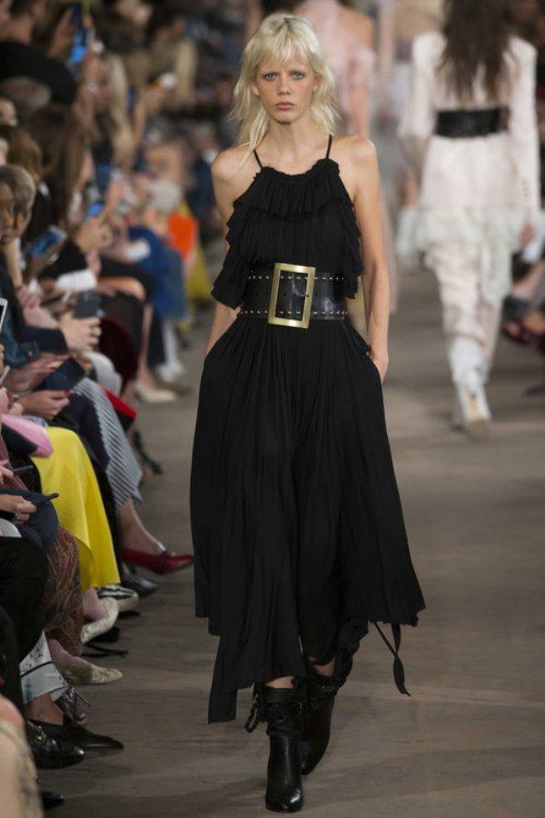 Платье черное Philosophy di Lorenzo Serafini