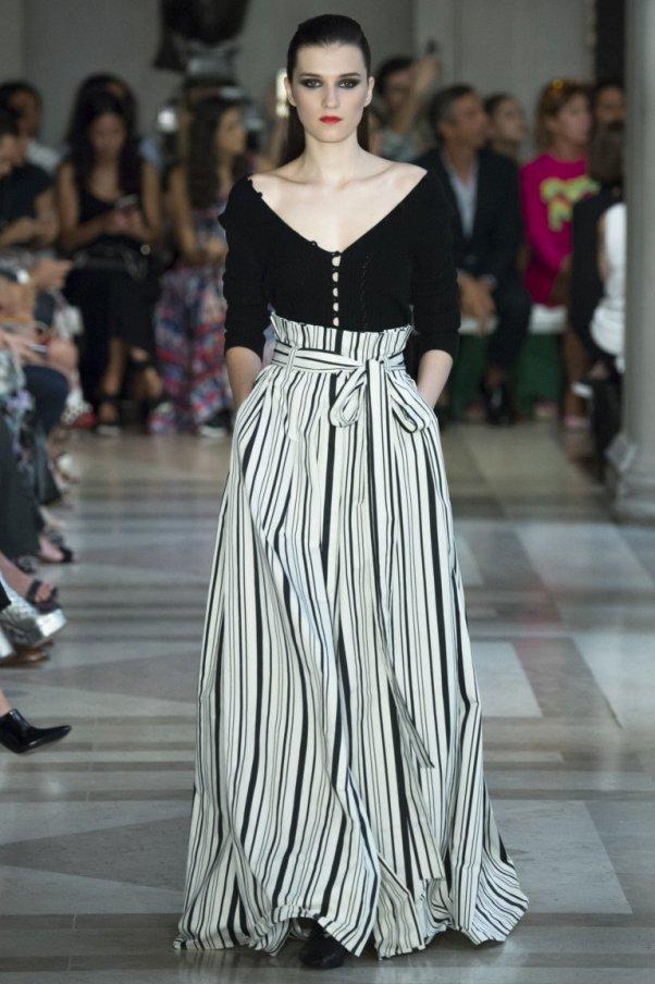 Платье с декольте Carolina Herrera