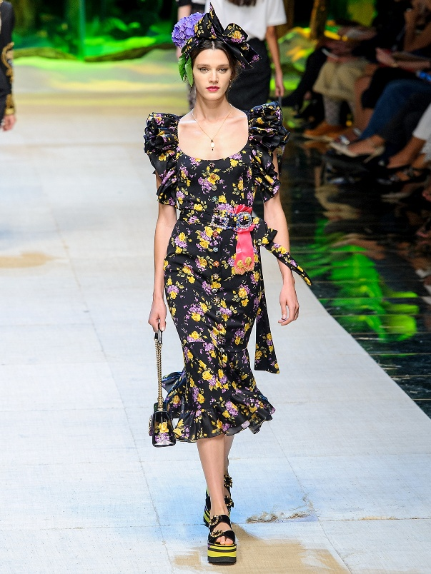 Летнее платье Dolce & Gabbana
