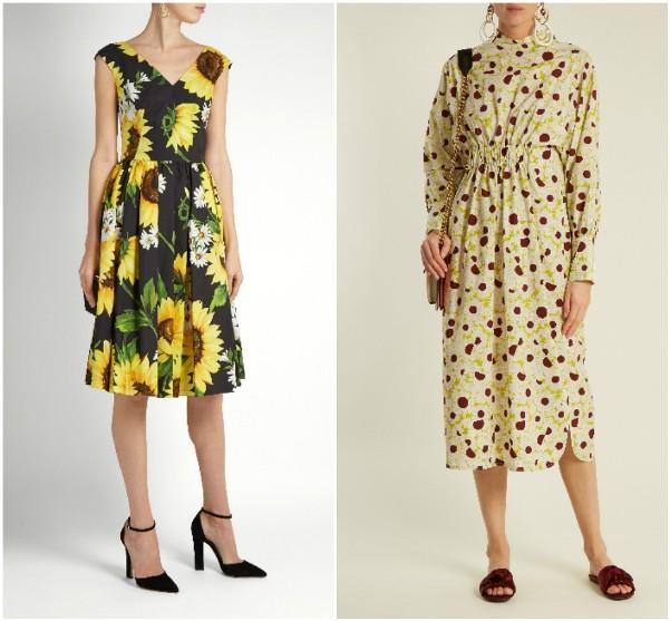 Летние платья 201 Dolce & Gabbana Marni