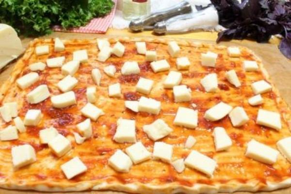 пицца на толстой лепешке рецепт теста