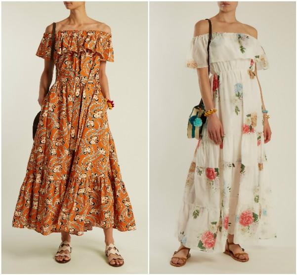 Длинные платья с оборками La DoubleJ Editions, Athena Procopiou