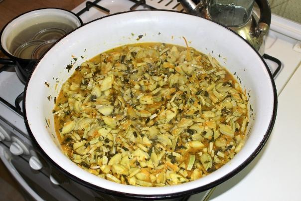 Закуска из кабачков на зиму - шаг 3