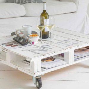 Журнальный стол из поддона