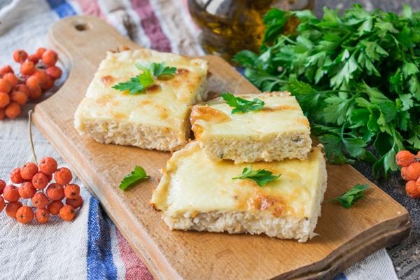 Запеканка из цветной капусты, рецепт под сыром в духовке