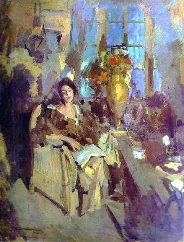 Korovin-portret-zhenshhiny