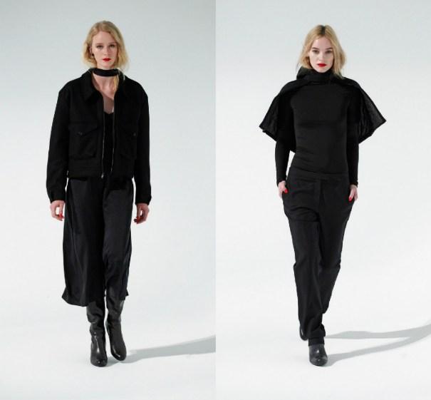 Черная одежда из коллекции Katie Gallagher