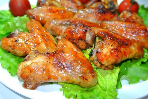 Куриные крылышки в маринаде
