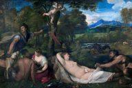 Юпитер и Антиона, Тициан