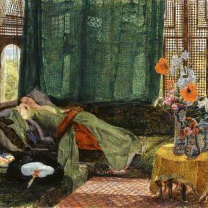 Сиеста, 1876. Джон Фредерик Льюис