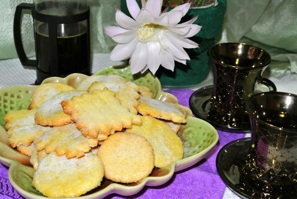 Французское песочное печенье сабле