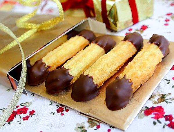 Венское песочное печенье пальчики
