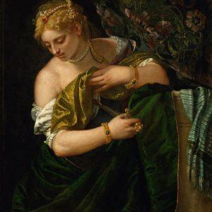 Картина художника Веронезе Лукреция