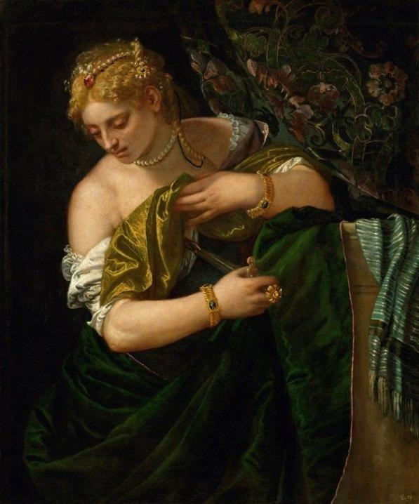 Лукреция, 1580. Паоло Веронезе