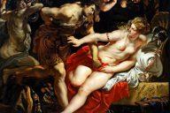 Картина Рубенса Лукреция и Тарквиний