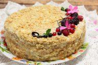 """Торт """"Наполеон"""" домашнего приготовления"""