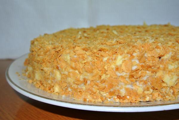 """Рецепт торта """"Наполеон"""""""