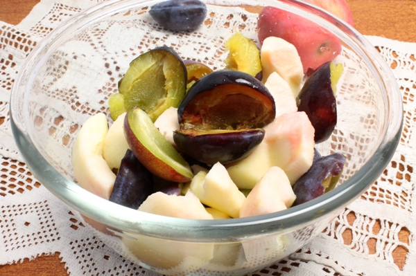 Сливово-яблочное варенье - шаг 1