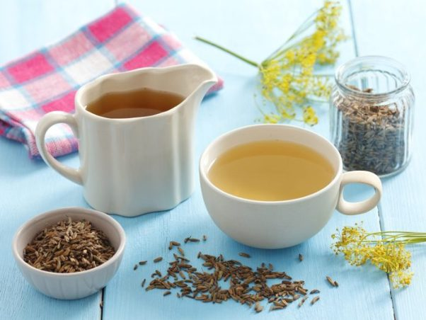 Чашка чая из фенхеля