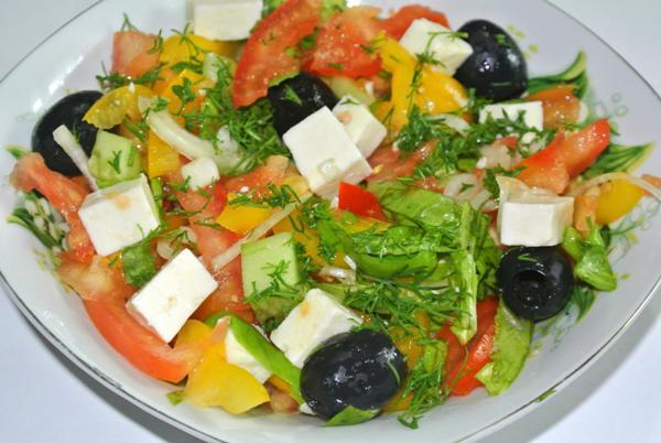 Греческий салат - шаг 6