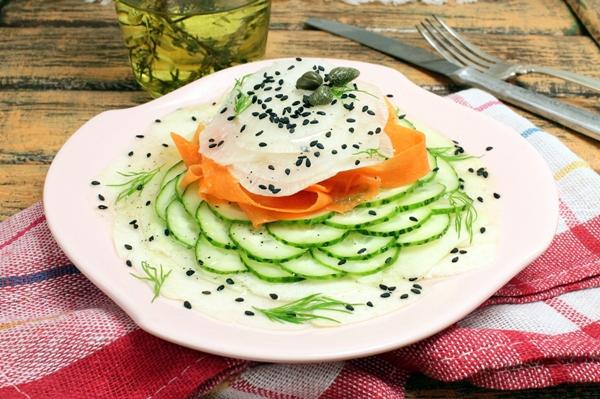 Карпаччо из овощей - шаг 7
