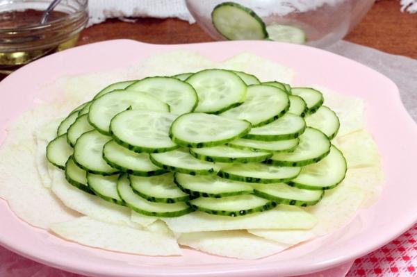 Карпаччо из овощей - шаг 4