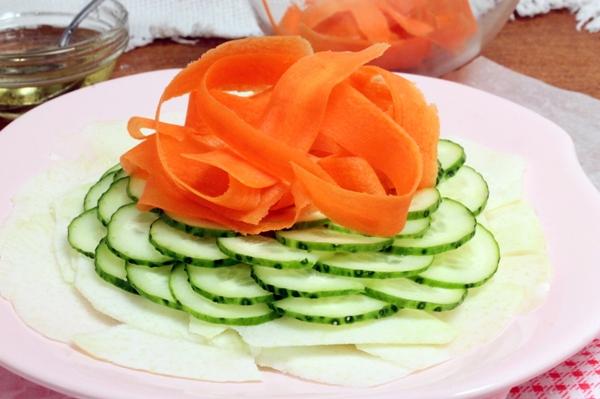 Карпаччо из овощей - шаг 5