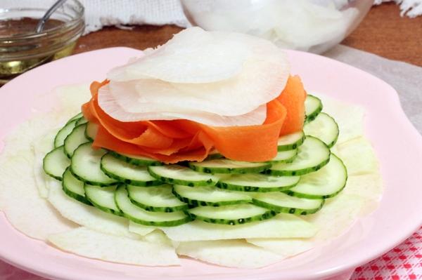 Карпаччо из овощей - шаг 6