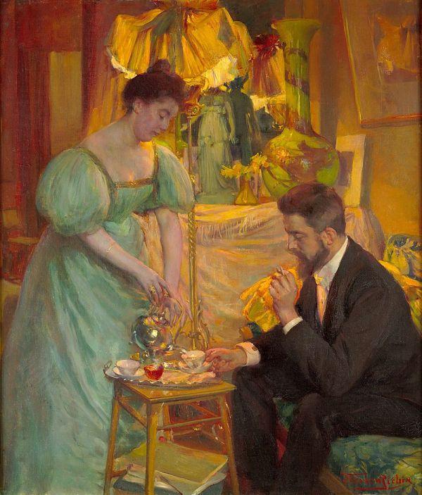 Жан Жозеф Герман Рихир (Jean Joseph Herman Richir, 1866-1942) - бельгийский художник академического направления