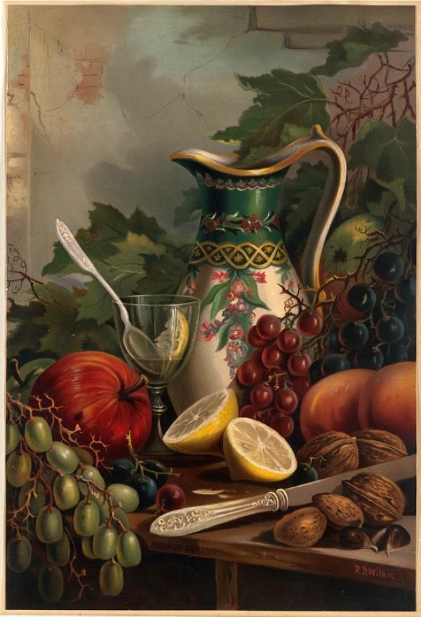 Десерт №1 (ок. 1861-1897). Роберт Уилки (1828-1903), американский художник