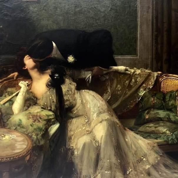 Головокружение, 1903. Этчеверри, Хьюберт Денис(1867-1950), французский художник