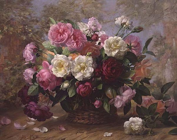 Красота небес в летней розе. Альберт Уильямс (1922-2010), британский художник