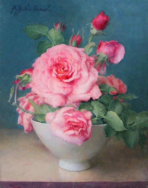 Маленькая белая чаша. Флоренс Джулия Бах (1887-1978), американская художница