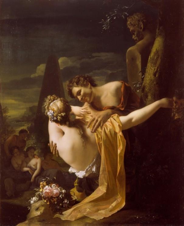 Пастух и пастушка, 1696. Адриан ван дер Верфф (1659-1722), голландский
