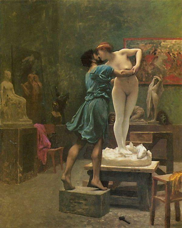 Пигмалион и Галатея. 1890. Масло, холст. Жан-Леон Жером. Metropolitan Museum of Art, США