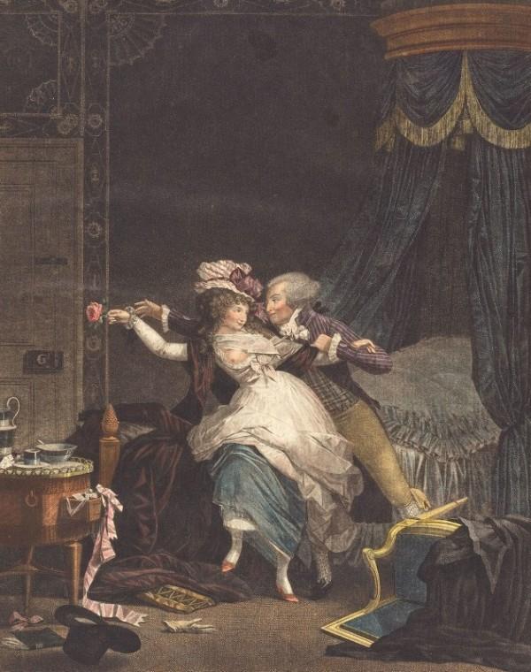 Плохо защищенная роза. Филибер-Луи Дебюкур (1755-1832), французский художник