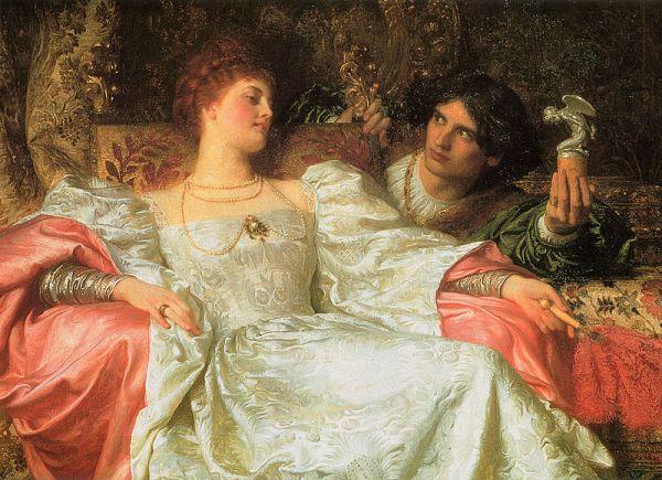 Предложение. Фрэнк Дикси (1853-1928), английский художник