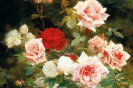 Розарий, 1902. Гюстав Бьенвету (1850-1916), французский художник