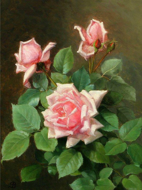 Августа Дольманн (1847–1914), датская художница