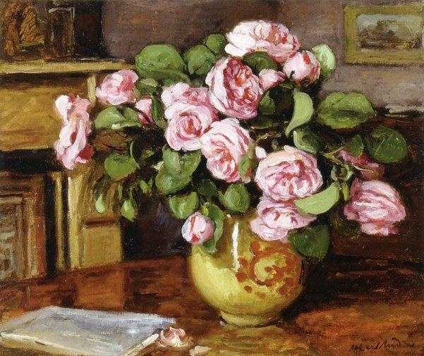 Ваза с цветами. Альбер Андре ( 1869-1954), французский постимпрессионист
