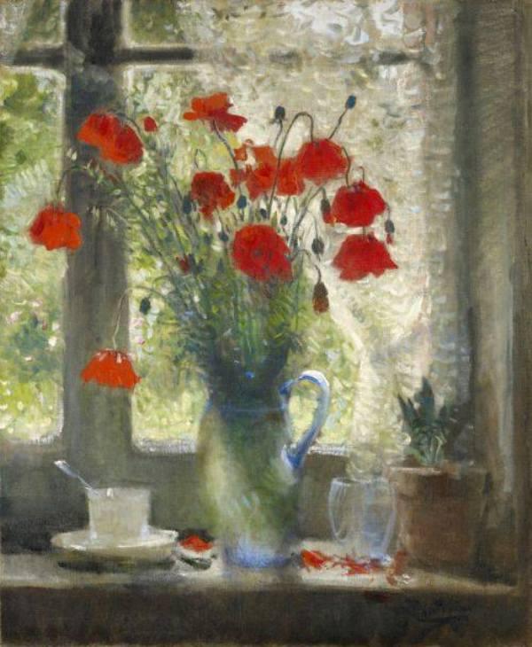 Букет маков. Pierre Eugene Montezin (1874-1946), французский художник