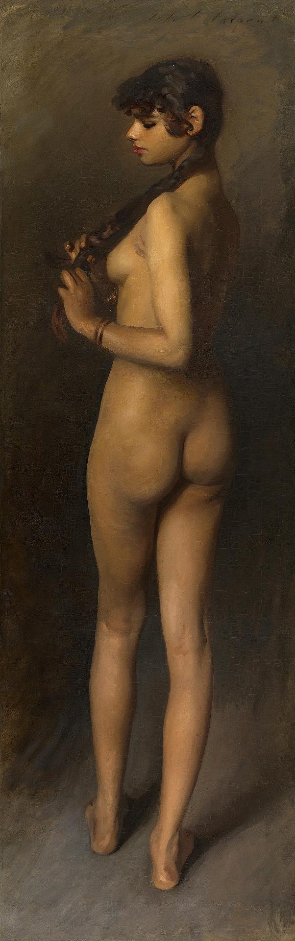 Исследование жизни. Этюд египетской девушки, 1891. Джон Сингер Сарджент (1856-1925), американский художник